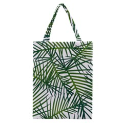 Fancy Tropical Pattern Classic Tote Bag by tarastyle