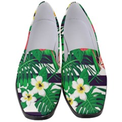 Fancy Tropical Pattern Women s Classic Loafer Heels by tarastyle