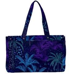 Fancy Tropical Pattern Canvas Work Bag by tarastyle