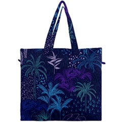 Fancy Tropical Pattern Canvas Travel Bag by tarastyle