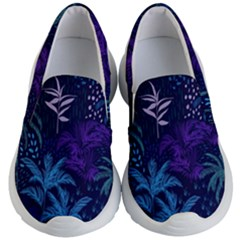 Fancy Tropical Pattern Kids  Lightweight Slip Ons by tarastyle