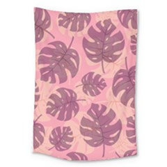 Fancy Tropical Pattern Large Tapestry by tarastyle