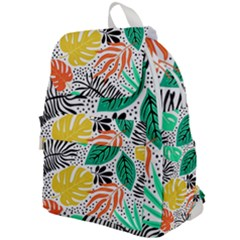 Fancy Tropical Pattern Top Flap Backpack by tarastyle