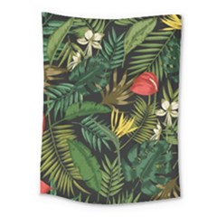 Fancy Tropical Pattern Medium Tapestry by tarastyle