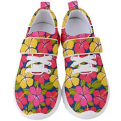 Fancy Tropical Pattern Women s Velcro Strap Shoes by tarastyle