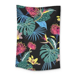 Fancy Tropical Pattern Small Tapestry by tarastyle