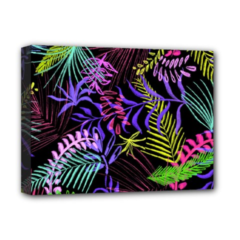 Fancy Tropical Pattern Deluxe Canvas 16  X 12  (stretched)  by tarastyle