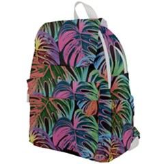 Fancy Tropical Pattern Top Flap Backpack