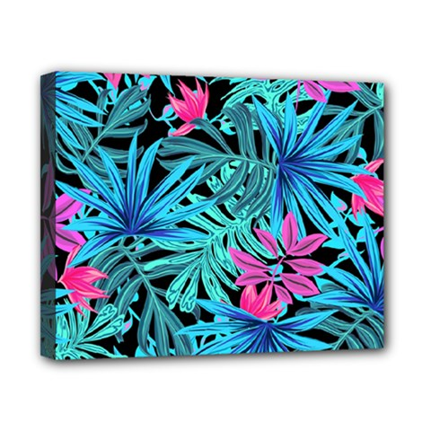 Fancy Tropical Pattern Canvas 10  X 8  (stretched) by tarastyle
