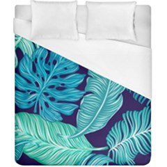 Fancy Tropical Pattern Duvet Cover (california King Size) by tarastyle