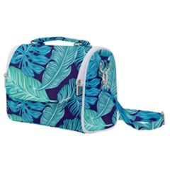 Fancy Tropical Pattern Satchel Shoulder Bag