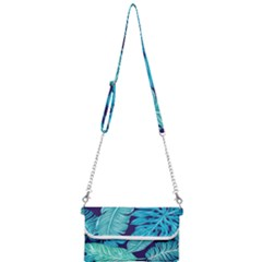 Fancy Tropical Pattern Mini Crossbody Handbag