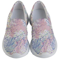 Cute Abstract Pattern  Kids  Lightweight Slip Ons by tarastyle