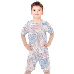 Cute Abstract Pattern  Kids  Tee And Shorts Set by tarastyle