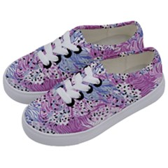 Cute Abstract Pattern  Kids  Classic Low Top Sneakers by tarastyle