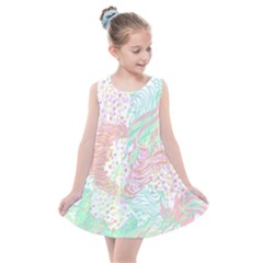 Cute Abstract Pattern  Kids  Summer Dress by tarastyle