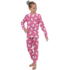 Butterfly Pattern Kids  Long Sleeve Set  by tarastyle