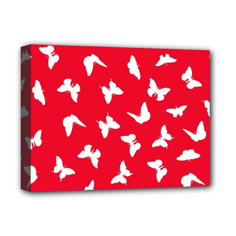 Butterfly Pattern Deluxe Canvas 16  X 12  (stretched)  by tarastyle