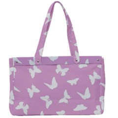 Butterfly Pattern Canvas Work Bag by tarastyle