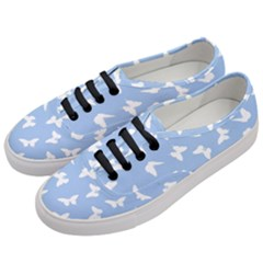 Butterfly Pattern Women s Classic Low Top Sneakers by tarastyle