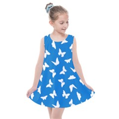 Butterfly Pattern Kids  Summer Dress by tarastyle