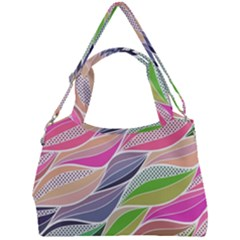 Abstract Art Double Compartment Shoulder Bag by tarastyle