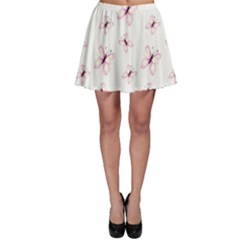 Butterfly Pattern Skater Skirt by tarastyle