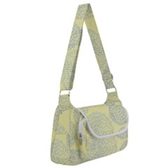 Spring Dahlia Print - Pale Yellow & Light Blue Multipack Bag by WensdaiAmbrose
