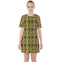 Ml 161 Sixties Short Sleeve Mini Dress by ArtworkByPatrick