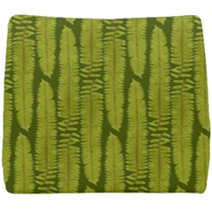 Fern Texture Nature Leaves Seat Cushion by Jojostore