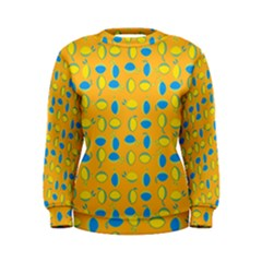 Lemons Ongoing Pattern Texture Women s Sweatshirt by Mariart