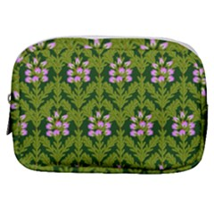 Pattern Nature Texture Heather Make Up Pouch (small)