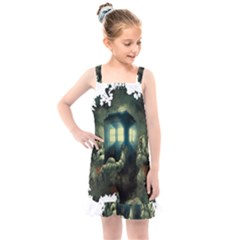 Time Machine Doctor Who Kids  Overall Dress by Sudhe