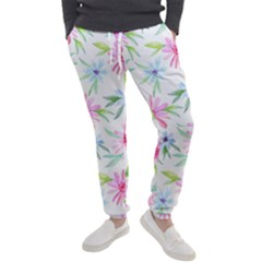 Fancy Floral Pattern Men s Jogger Sweatpants