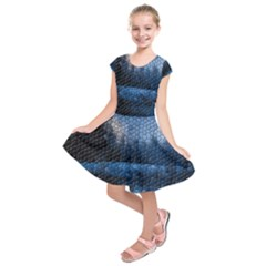 Mountain Glass Kids  Short Sleeve Dress by snowwhitegirl