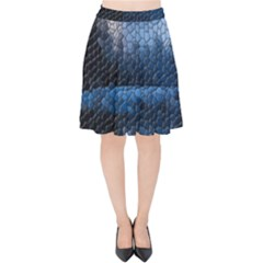 Mountain Glass Velvet High Waist Skirt by snowwhitegirl