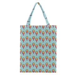 Cotton Candy Pattern Aqua 3d Classic Tote Bag by snowwhitegirl