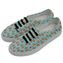 Cotton Candy Pattern Aqua 3d Men s Classic Low Top Sneakers by snowwhitegirl