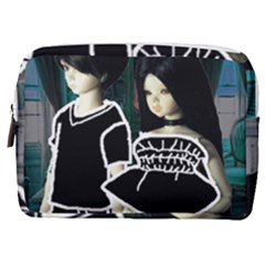 Dolls In Living Room Make Up Pouch (medium)