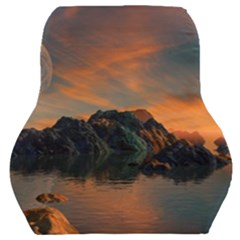 Horizon Sunset Evening Sunrise Car Seat Back Cushion
