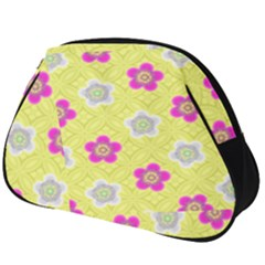 Traditional Patterns Plum Full Print Accessory Pouch (big)
