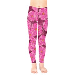 Cherry Blossoms Floral Design Kids  Legging