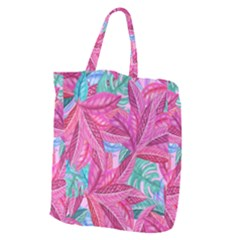 Leaves Tropical Reason Stamping Giant Grocery Tote