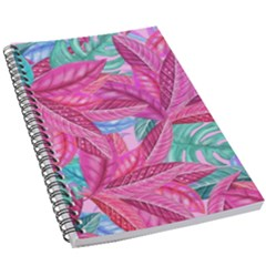 Leaves Tropical Reason Stamping 5 5  X 8 5  Notebook by Pakrebo