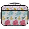 Fancy Floral Pattern Full Print Lunch Bag View1