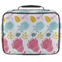 Fancy Floral Pattern Full Print Lunch Bag View2