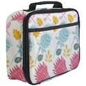 Fancy Floral Pattern Full Print Lunch Bag View3
