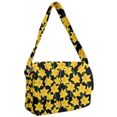 Yellow Daffodils Pattern Courier Bag