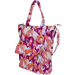 Flamingos Shoulder Tote Bag