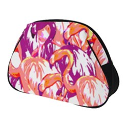 Flamingos Full Print Accessory Pouch (small) by StarvingArtisan